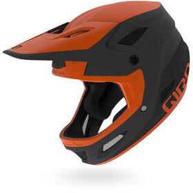 Giro Disciple MIPS Cykelhjälm orange/svart